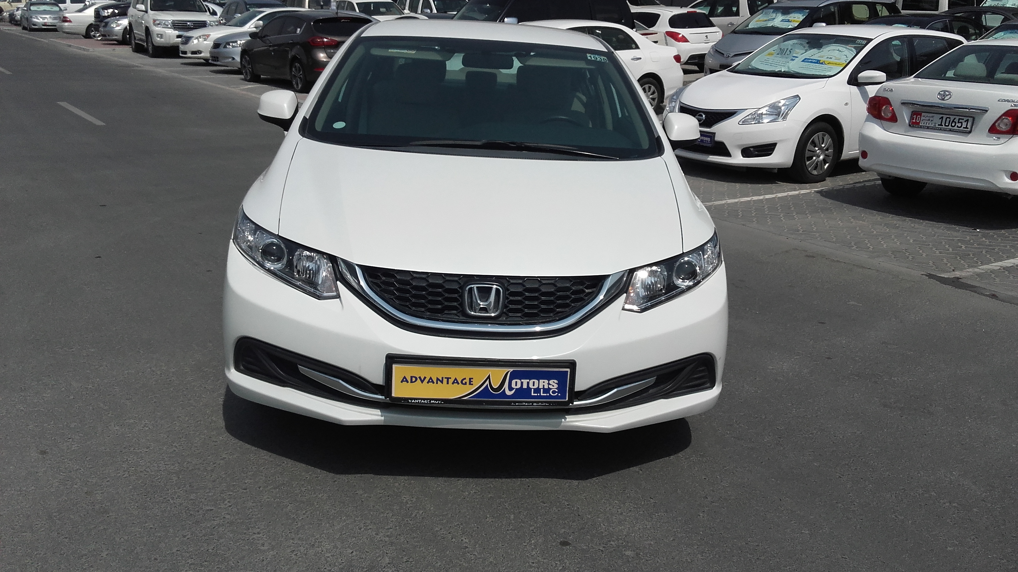 Honda civic 2014 kargal dealers uae for Honda civic dealership