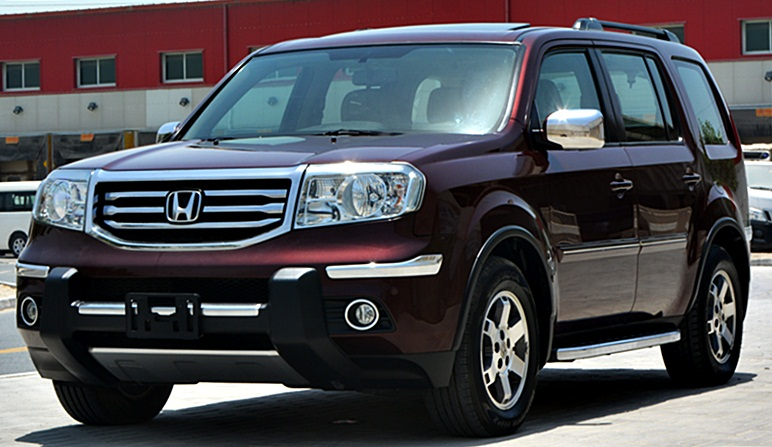 honda pilot 2013 gcc full options sunroof leather seat no down payment accident free 0521293134. Black Bedroom Furniture Sets. Home Design Ideas