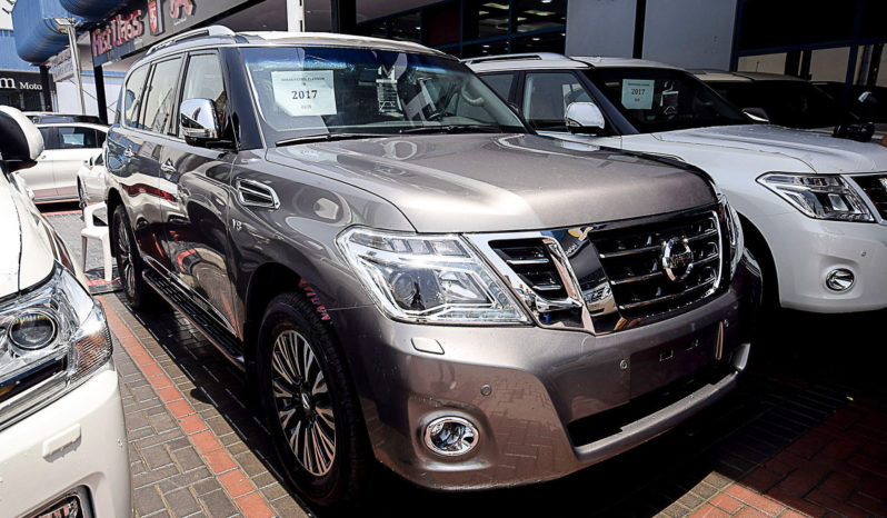 For Sale Nissan Patrol Platinum VVEL Gray colour full