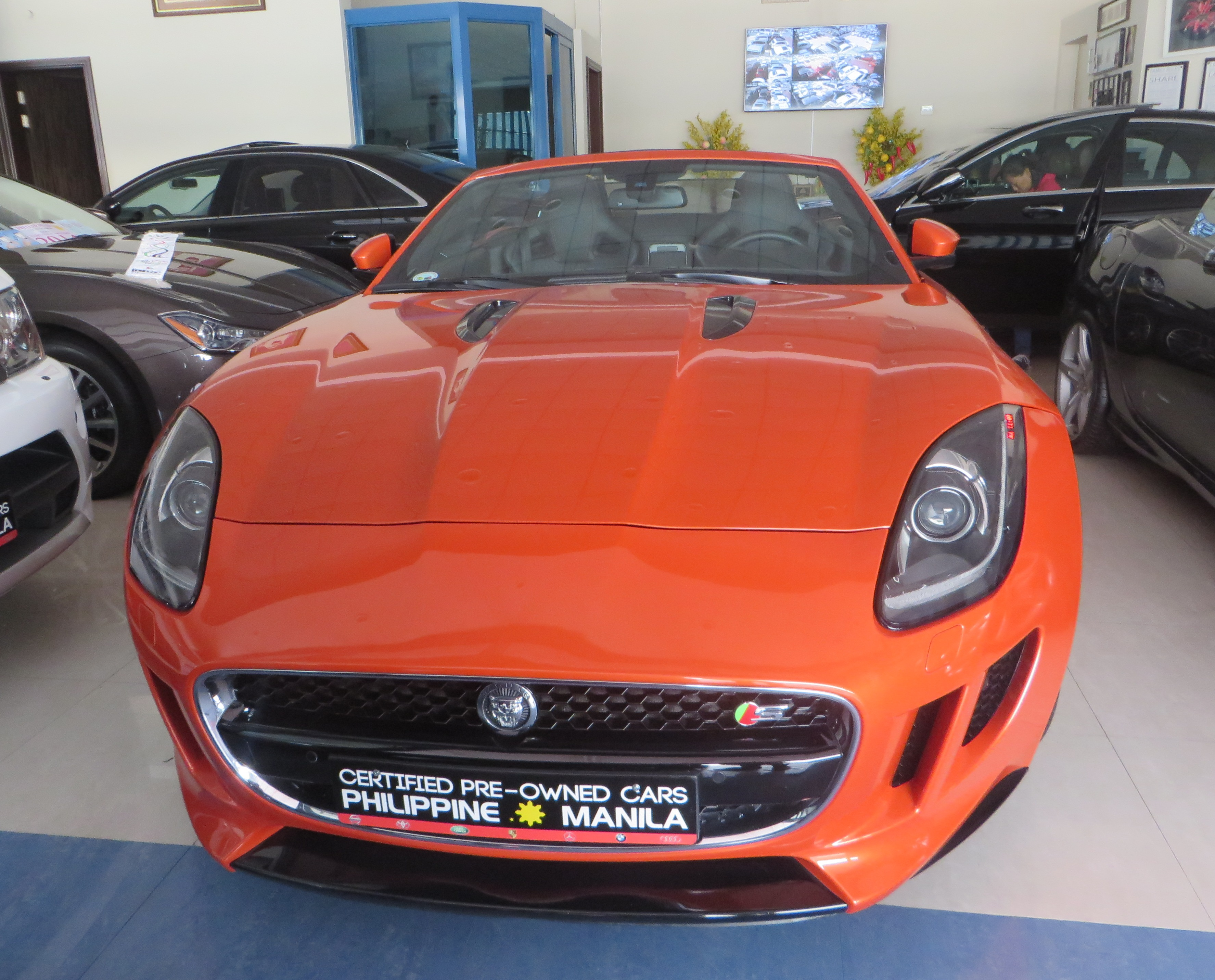 Philippine Car Showroom