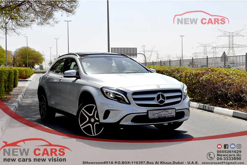gcc mercedes gla250 2015 zero down payment 2 135 aed monthly under warranty kargal. Black Bedroom Furniture Sets. Home Design Ideas