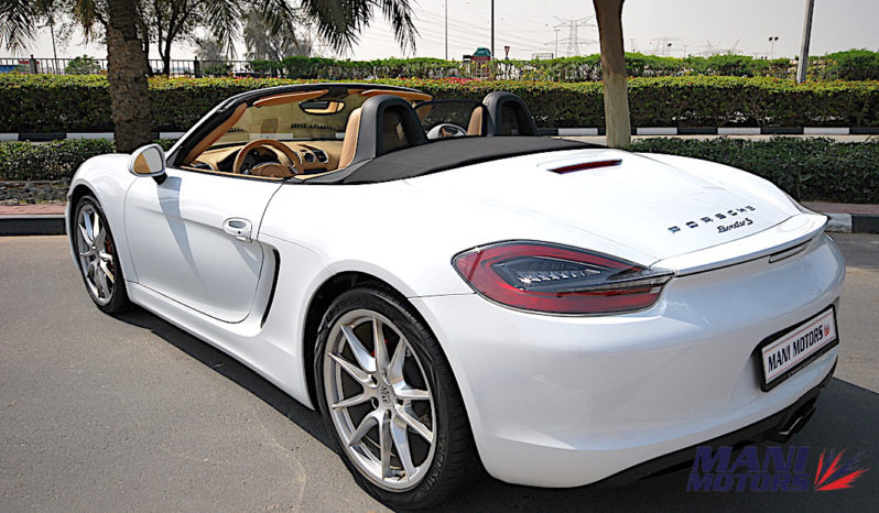 PORSH BOXSTER full