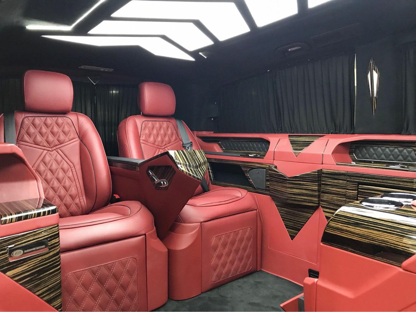 Mercedes benz vito 2018 luxury vip van kargal dealers - Commercial van interiors locations ...