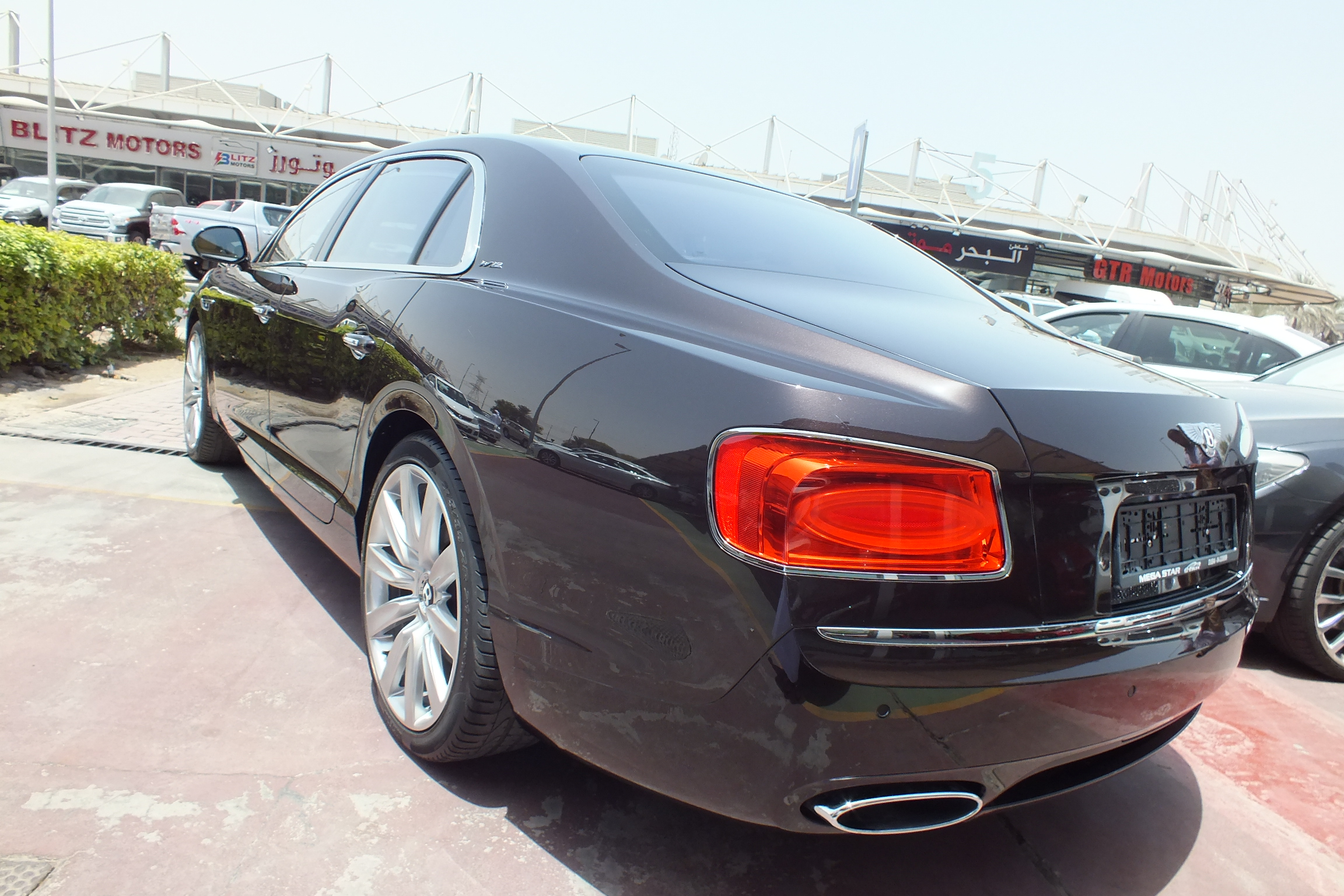 Bentley Flying Spur W12 2014 GCC Spec used car for sale