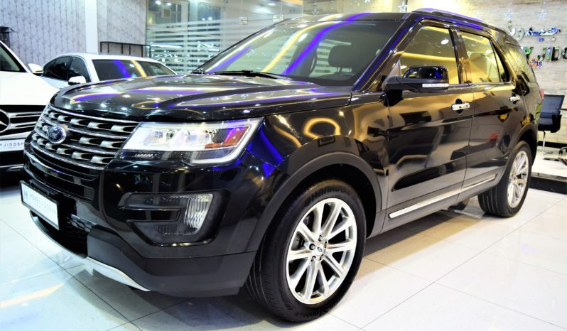 Ford Explorer Limited 4WD 2016 Model GCC Specs full