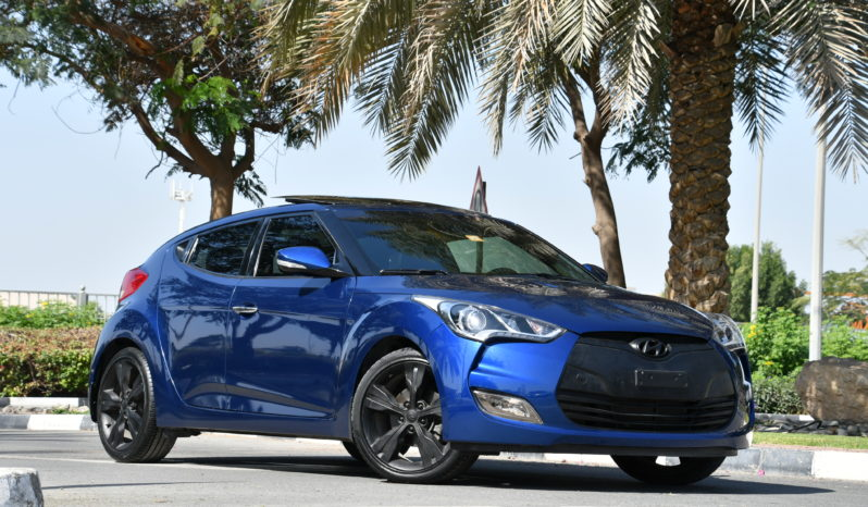 HYUNDAI VELOSTER – 2016 – LOW MILEAGE – FULL SERVICE HISTORY – WARRANTY – O DOWNPAYMENT – 884AED – full