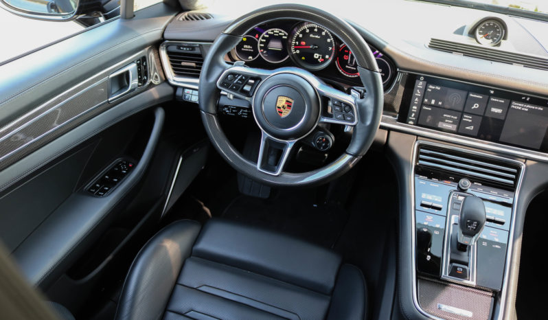 Porsche PANAMERA TURBO 2017 full