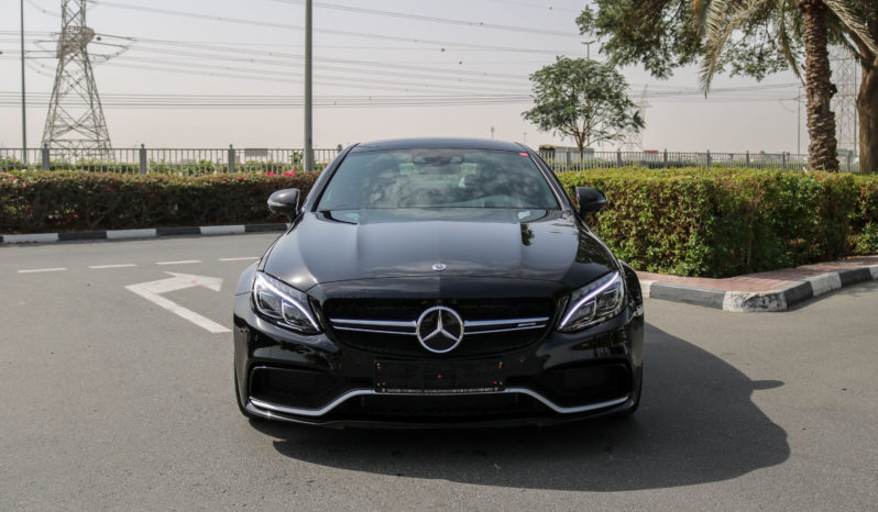 Mercedes Benz C63s 2018 full