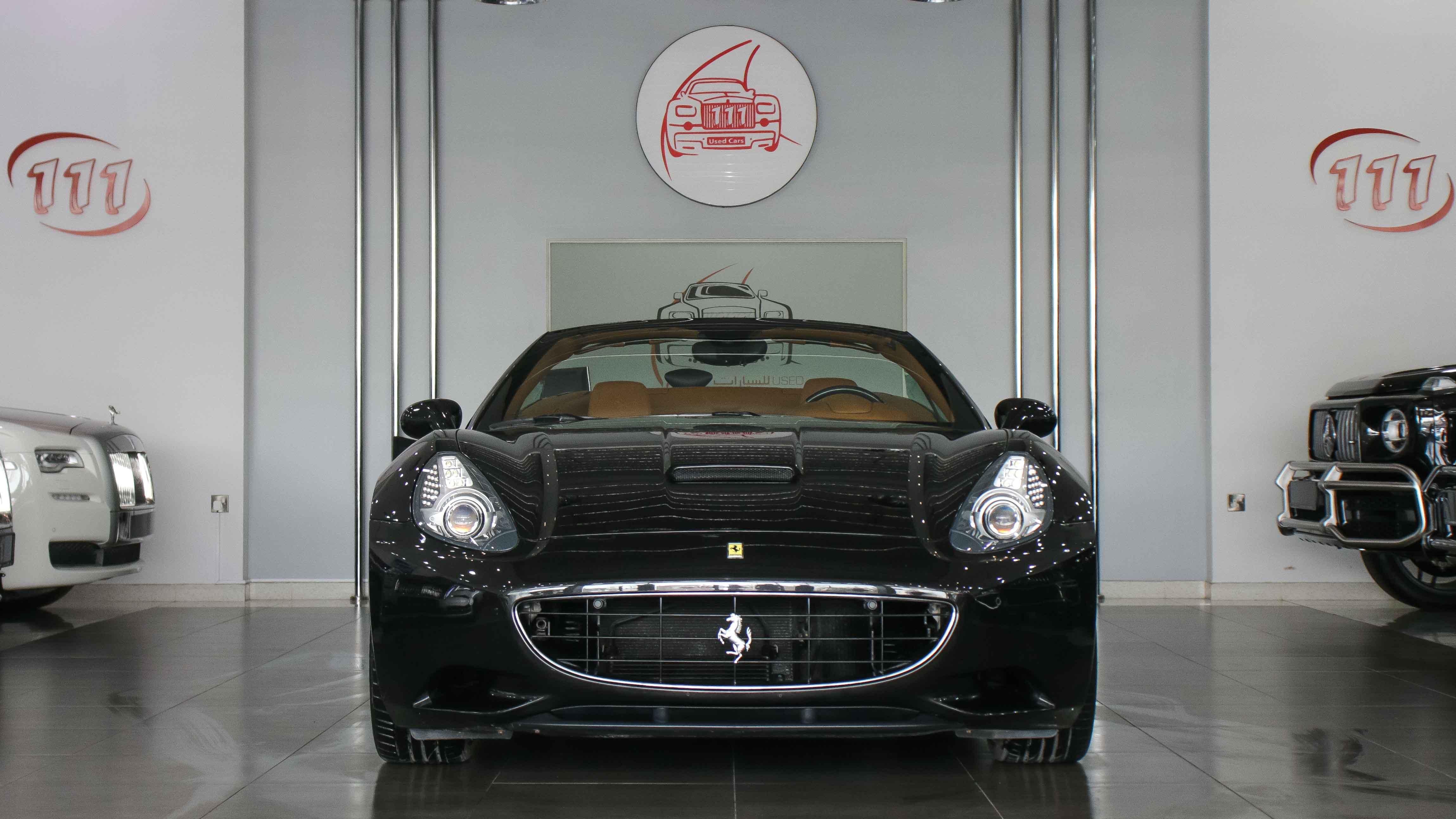2010 Ferrari California Black Beige 02 Kargal Dealers Uae