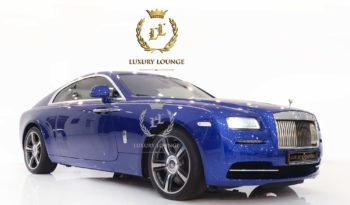 2016 ROLLS ROYCE WRAITH GCC SPECS FULL SERVICE HISTORY UNDER WARRANTY FULL OPTIONS STARLIGHT ROOF full