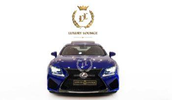 2015 LEXUS RC F,GCC SPECS,FULL SERVICE HISTORY,UNDER WARRANTY full