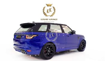 2018 LAND ROVER RANGE ROVER SPORT SVR,GCC SPECS,FSH,SERVICE CONTRACT,5 YEARS WARRANTY full