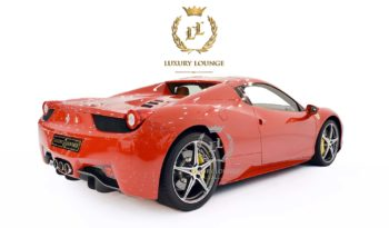 2015 FERRARI 458 SPIDER,GCC SPECS,FULL SERVICE HISTORY,SERVICE CONTRACT FROM DEALER,UNDER WARRANTY full